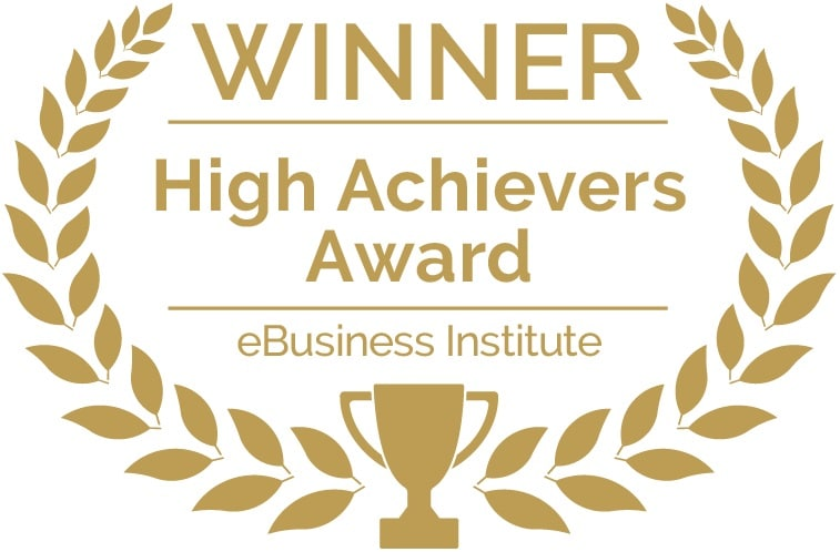 eBusiness Institute Student High Achievers Award